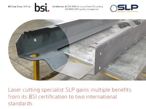 SLP Appear In A BSI Certification Standards Case Study